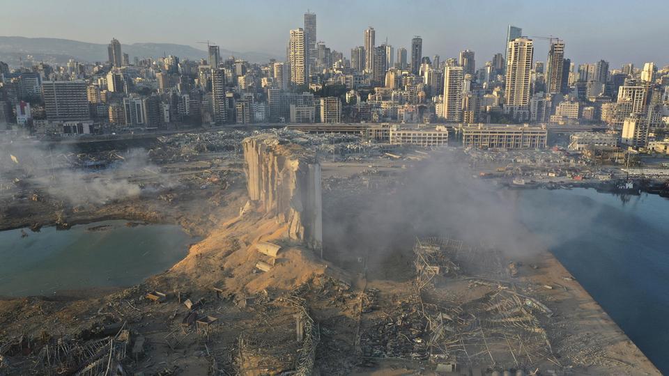Beirut Explosion 105 V Videowebl