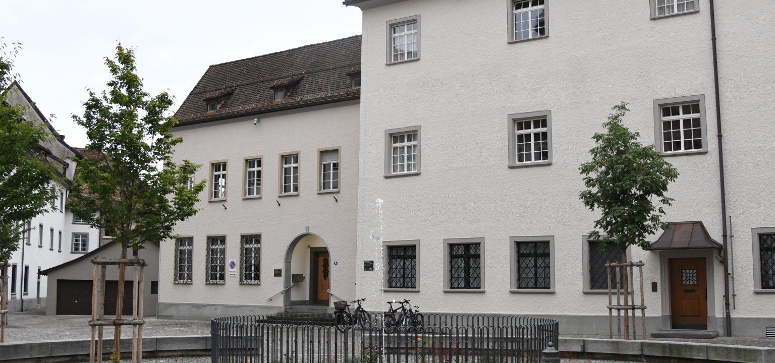 Sparad Gebäude Aussenansicht