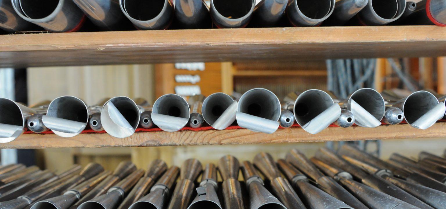 Orgelpfeifen Symbolbild