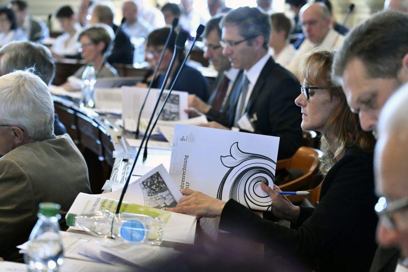 Sitzung Katholisches Kollegium Juni 2018 Aufnahme : Regina Kühne
